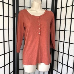 J. Crew Burnt Orange Vintage Style Shirt